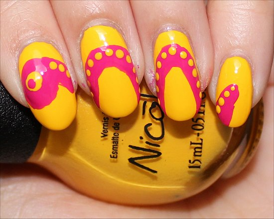 Snake Nails Nail Art Tutorial Step 6