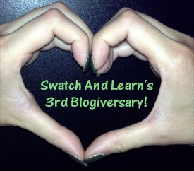 SwatchAndLearn Turns 3