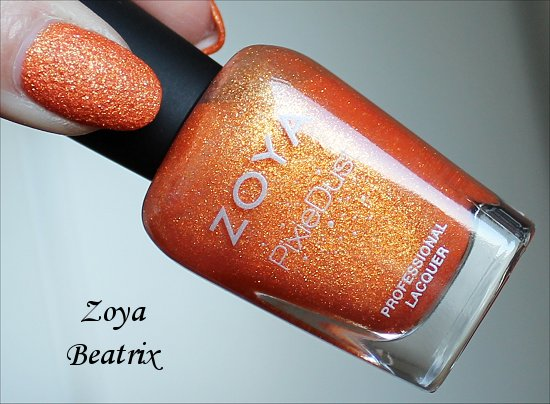Zoya Summer PixieDust Beatrix Swatch & Review
