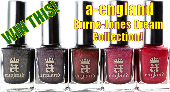 a-england Burne-Jones Dream Collection Giveaway SwatchAndLearn