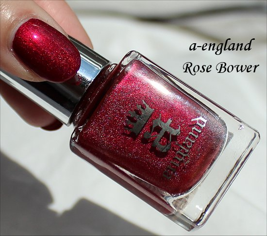 a-england Rose Bower Burne Jones Dream Collection Swatch