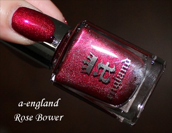 a-england Rose Bower Swatch, Photos & Review
