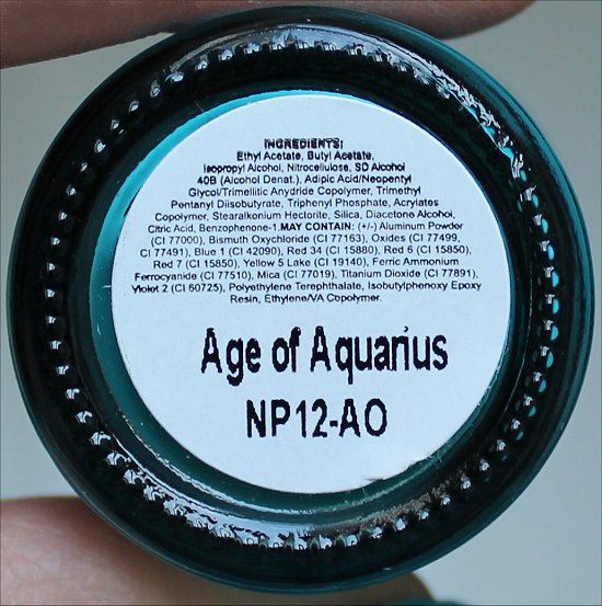 Adorn Age of Aquarius Ingredients