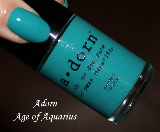 Adorn Age of Aquarius Swatch