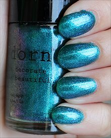 Adorn Landlocked Mermaid Swatches & Review