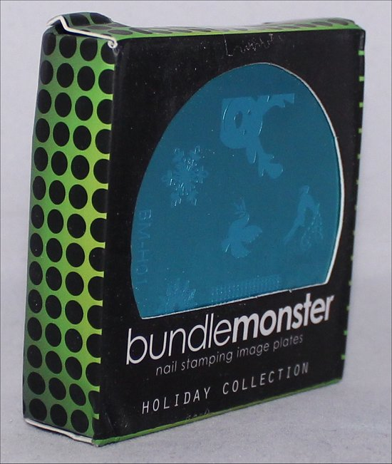Bundle Monster Holiday Nail Stamping Plates Review