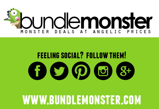 Bundle Monster Social Media & Logo