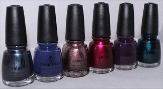 China Glaze Autumn Nights Collection Photos