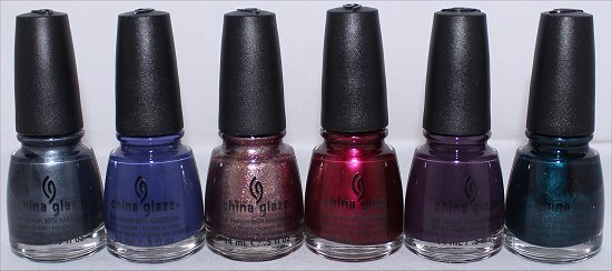 China Glaze Autumn Nights Collection Pictures
