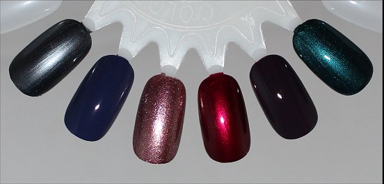 China Glaze Autumn Nights Collection Swatches