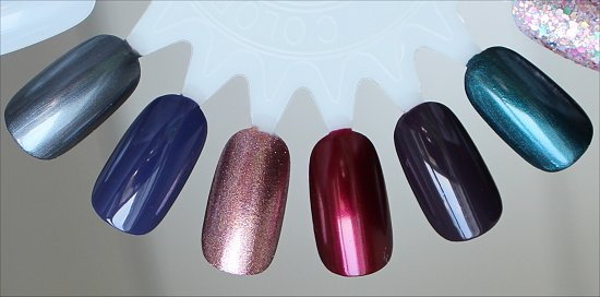 China Glaze Autumn Nights Swatches