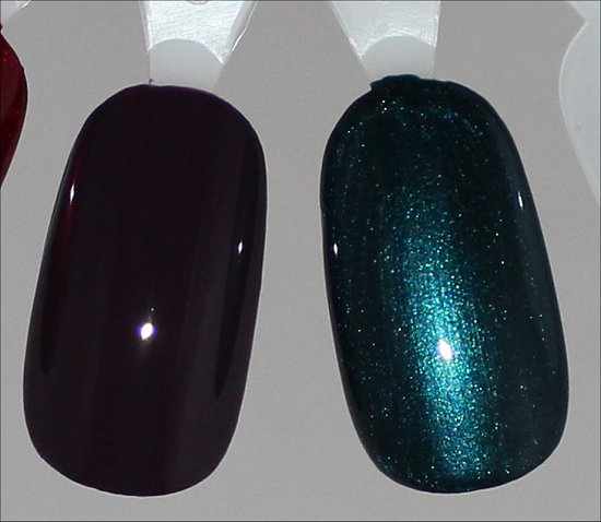 China Glaze Charmed, I'm Sure Swatch & China Glaze Tongue & Chic Swatch