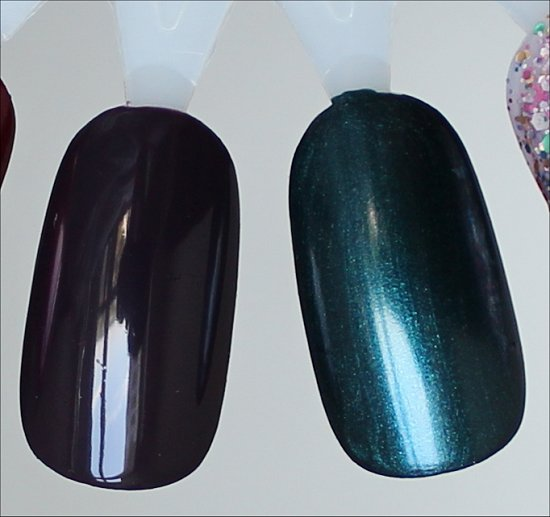China Glaze Charmed, I'm Sure Swatches & China Glaze Tongue & Chic Swatches