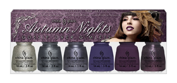 China Glaze Gossip over Gimlets Autumn Nights Collection