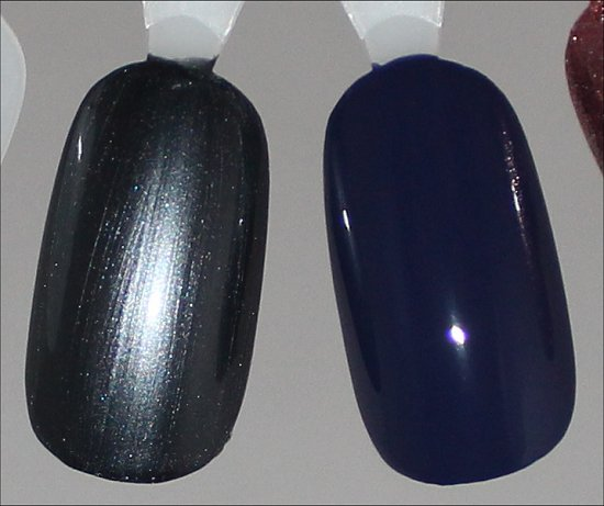 China Glaze Kiss My Glass Swatch & China Glaze Queen B Swatch