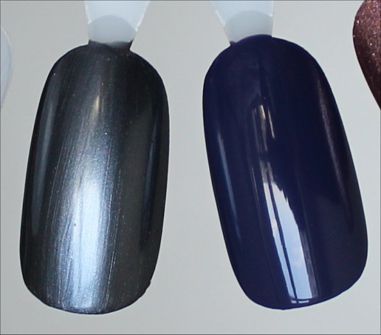 China Glaze Kiss My Glass Swatches & China Glaze Queen B Swatches