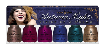 China Glaze Strike Up a Cosmo Autumn Nights Collection