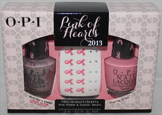 OPI Pink of Hearts 2013 Swatches & Review