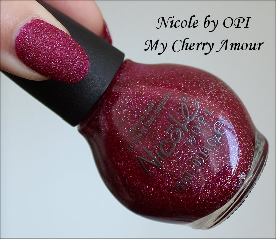 Nicole by OPI My Cherry Amour Gumdrops Collection