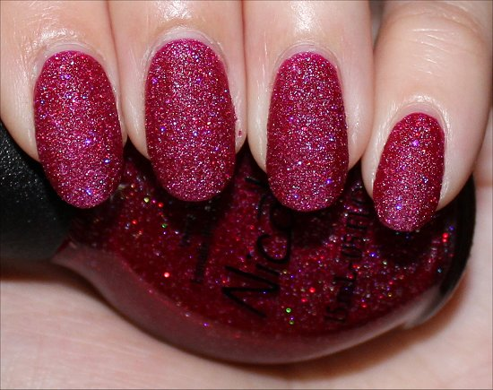 Nicole by OPI My Cherry Amour Photos & Swatch