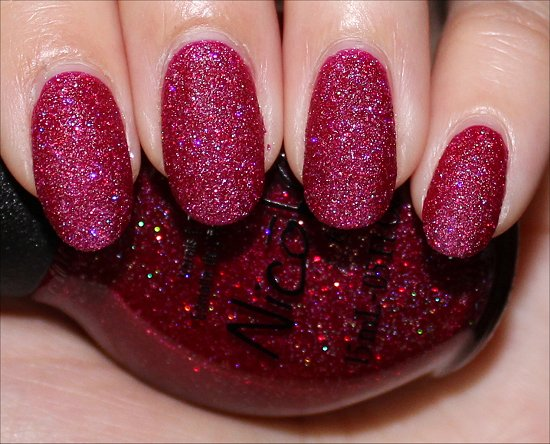Nicole by OPI My Cherry Amour Photos & Swatches