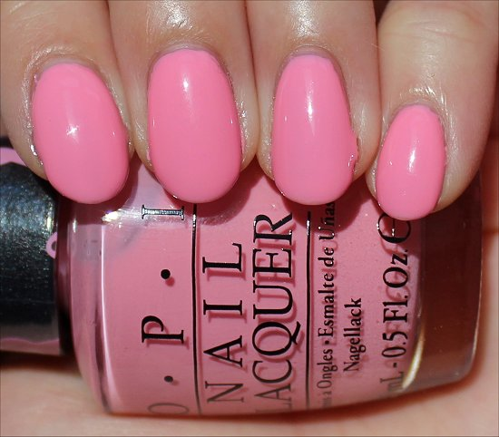 OPI 2013 Pink of Hearts Swatch Pink-ing of You Swatch