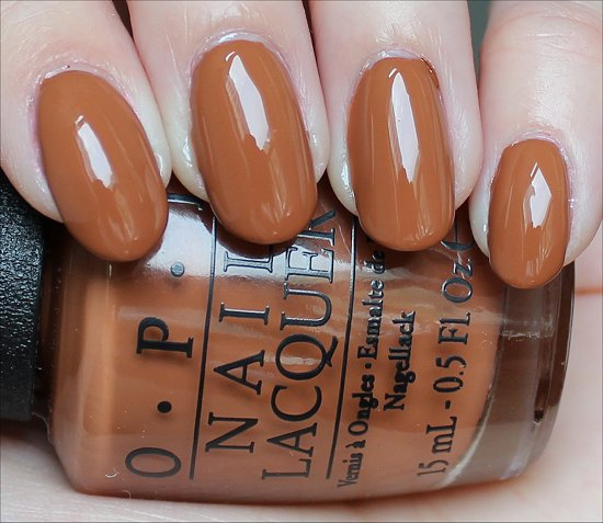 OPI A-Piers to Be Tan Swatch & Review