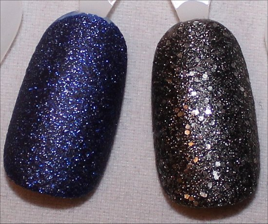 OPI DS Lapis Swatch OPI DS Pewter Swatch
