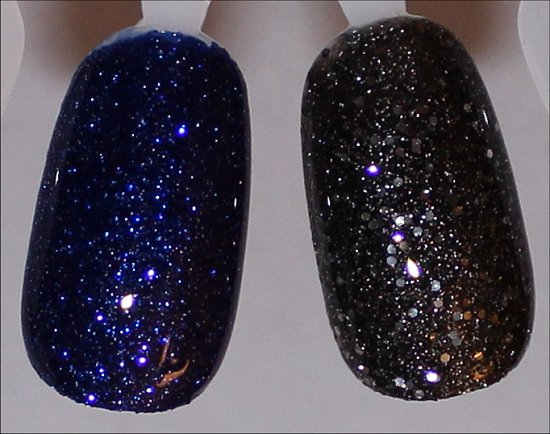 OPI DS Lapis Swatches OPI DS Pewter Swatches