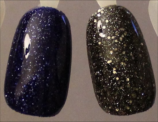 OPI DS Lapis Swatches & OPI DS Pewter Swatches