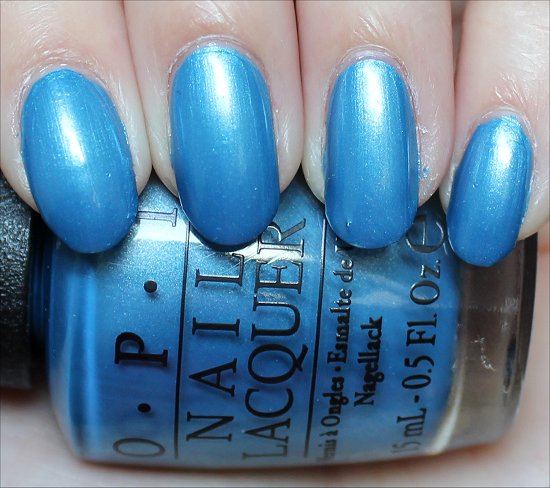OPI Dining Al Frisco Review & Swatches