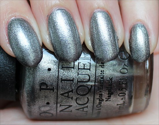OPI Haven't the Foggiest Swatches