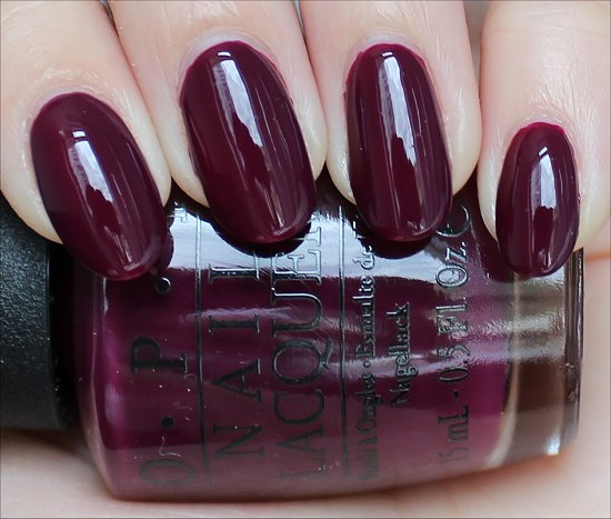 OPI In the Cable Car-Pool Lane Review & Swatches