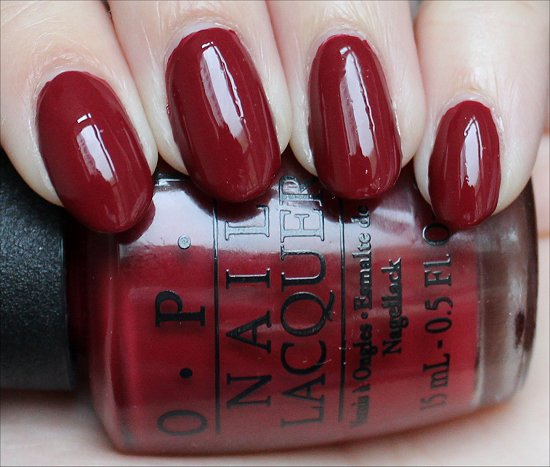 OPI Lost on Lombard Review & Swatch