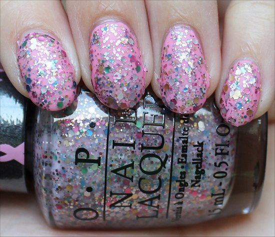 OPI More than a Glimmer Review & Swatch