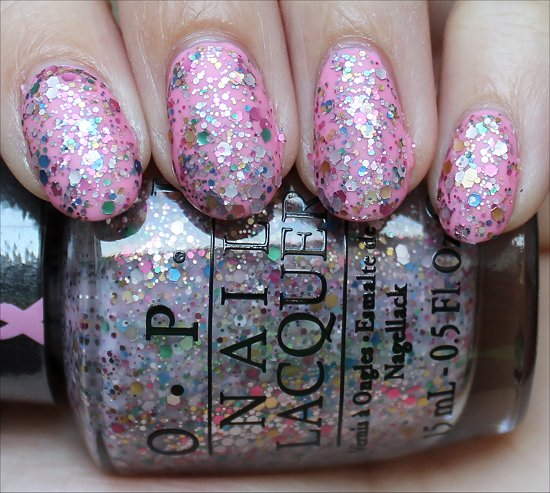 OPI More than a Glimmer Review & Swatches