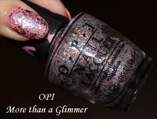 OPI More than a Glimmer Review