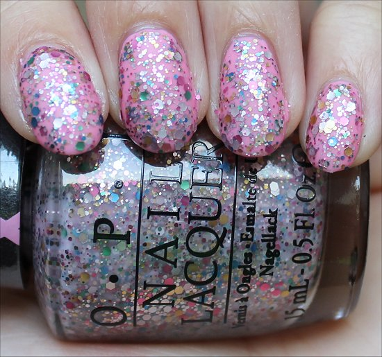 OPI More than a Glimmer Swatch & Review