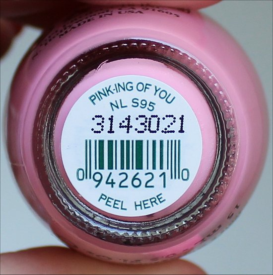 OPI Pink-ing of You Pink of Hearts 2013