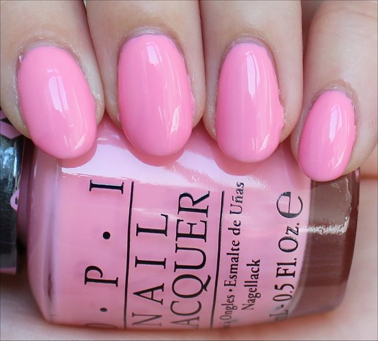 OPI Pink-ing of You Review & Swatches