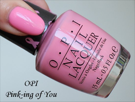 OPI Pink-ing of You Swatch, Review & Pictures