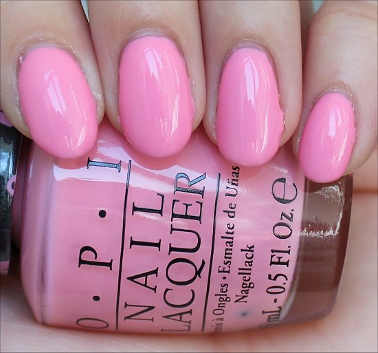 OPI Pink-ing of You Swatch & Review