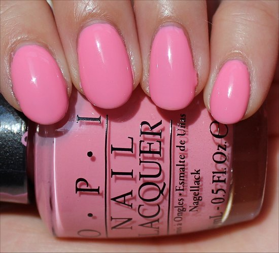 OPI Pink-ing of You Swatches OPI Pink of Hearts Swatches