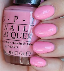 OPI Pink-ing of You Swatches & Review