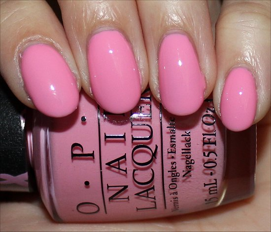 OPI Pink of Hearts 2013 OPI Pink-ing of You Swatch