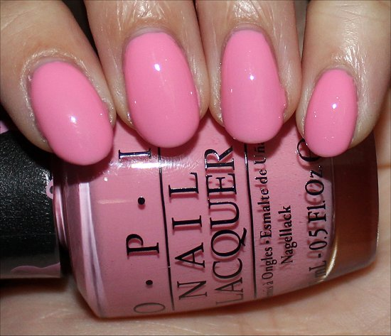OPI Pink of Hearts 2013 OPI Pink-ing of You Swatches