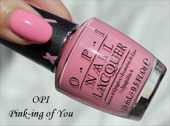OPI Pink of Hearts 2013 OPI Pink-ing of You