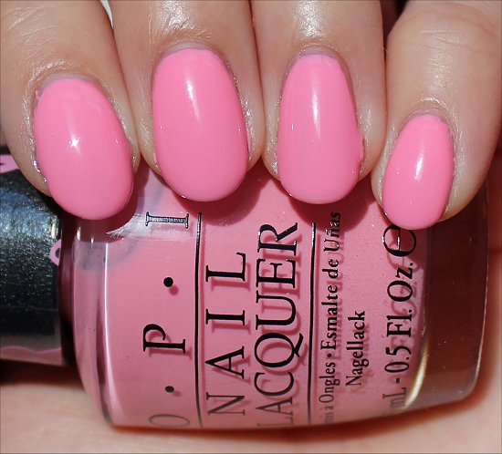 OPI Pink of Hearts Swatches