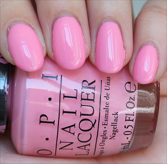 OPI Pinking of You Swatch