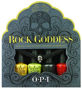 OPI Rock Goddess Mini Nail Lacquer Set Halloween 2013
